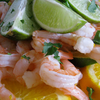 Cilantro Citrus Shrimp.