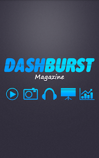DashBurst Magazine- screenshot thumbnail