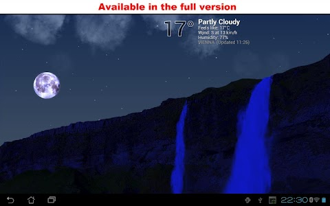True Weather, Waterfalls FREE screenshot 5