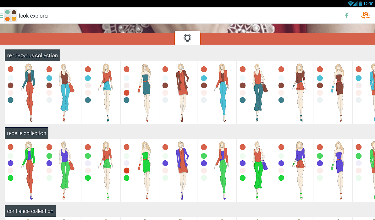 Haute fashion color advice android apps on google play for Color coordinated apps