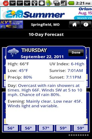 KY3 Weather - screenshot