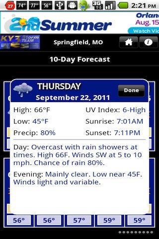 Ky3 Weather Forecast