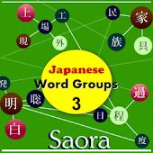 Japanese Word Groups set 3