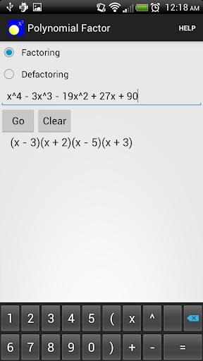 Polynomial Factor