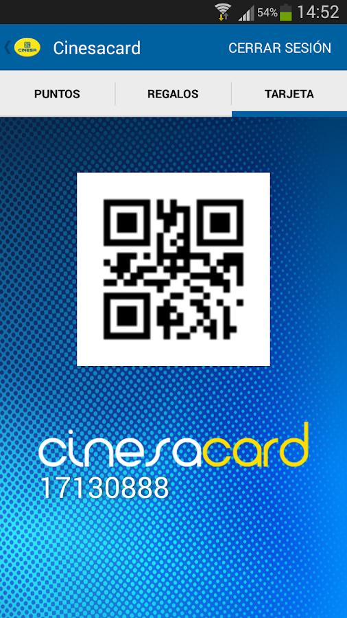 Cinesa: Cartelera de películas - screenshot