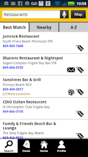 St. Kitts Nevis Yellow Pages - screenshot thumbnail