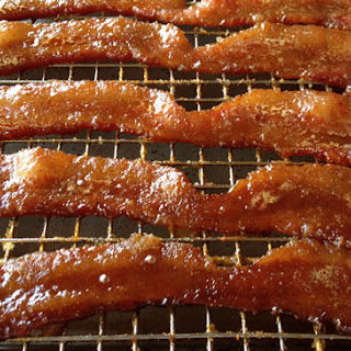 """Candied Bacon or """"Pig Candy""""."""