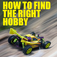 How To Find The Right Hobby logo