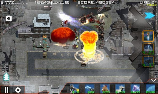 Global Defense: Zombie War- screenshot thumbnail