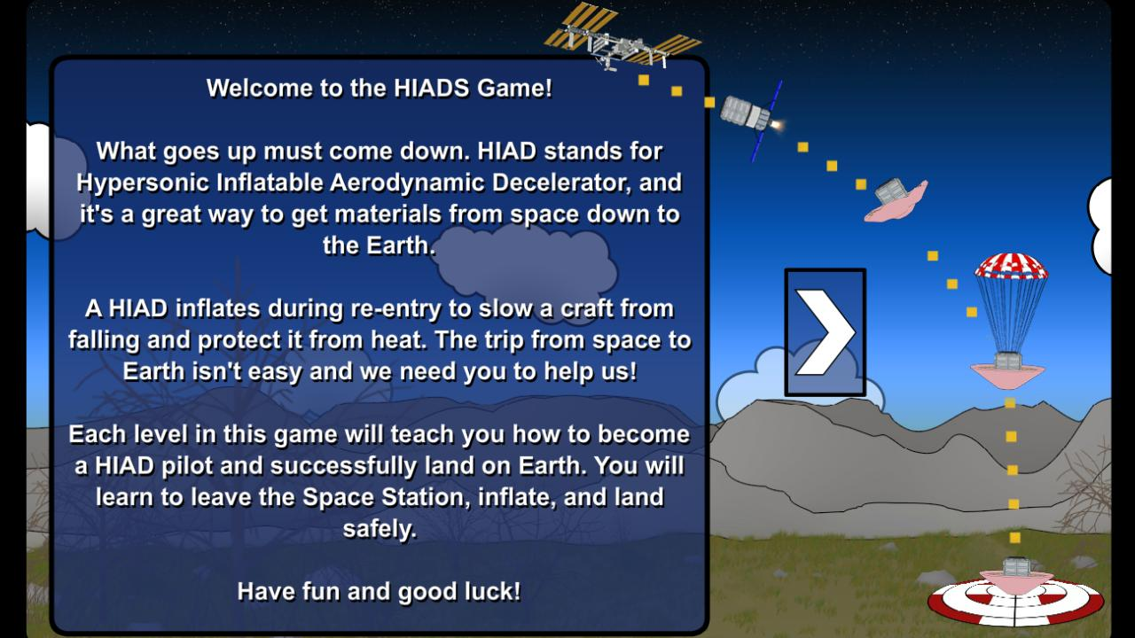 NASA HIAD - screenshot
