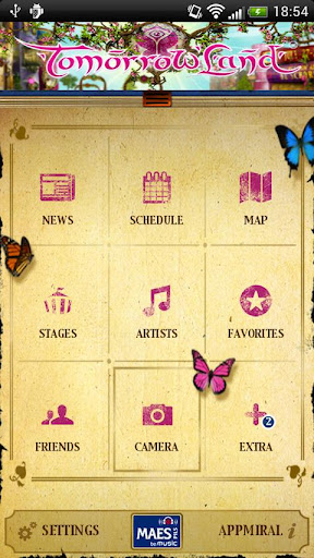 Tomorrowland 2012 lapp ufficiale per Android