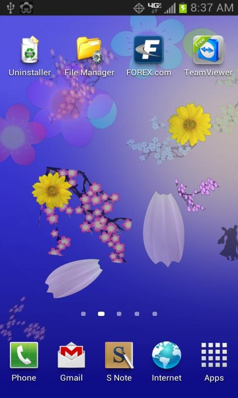 Spray Flowers - screenshot