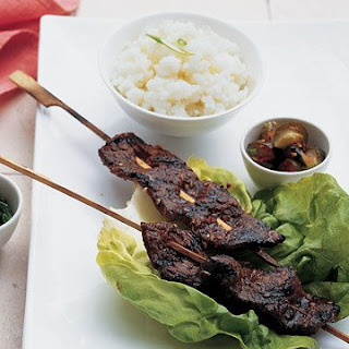 Korean Short Rib Kebabs