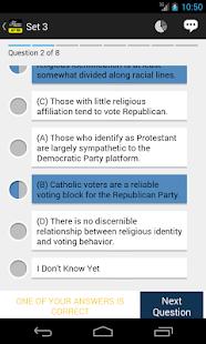 AP US Gov & Politics Exam Prep - screenshot thumbnail