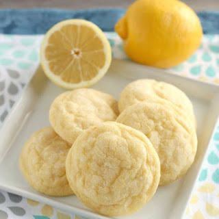 Soft Baked Lemon Cookies