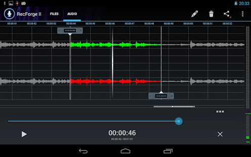 RecForge II - Audio Recorder- screenshot thumbnail
