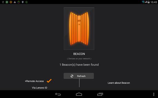 Lenovo Beacon Pad Version