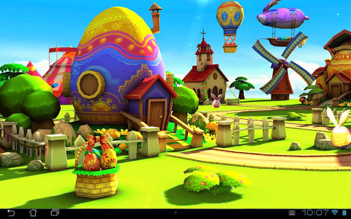 Easter 3D Live Wallpaper app for Android screenshot