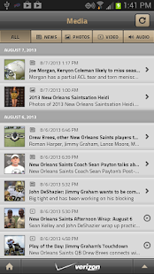 New Orleans Saints Mobile - screenshot thumbnail