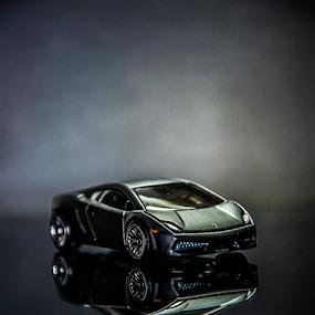 Lamborghini by Thiago Silva - Artistic Objects Toys ( toy, gray, small, boy, mini,  )