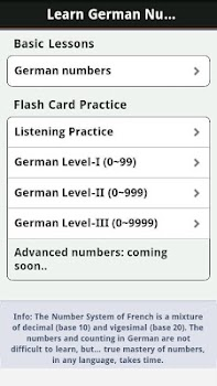 German Numbers and Counting