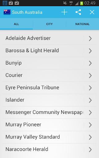 South Australia All Newspapers