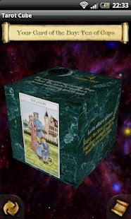 Tarot Cube Fortune teller