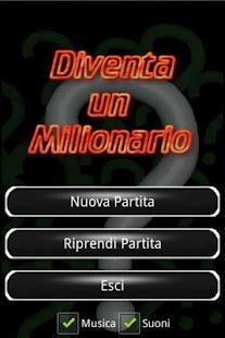 Diventa un Milionario- screenshot thumbnail