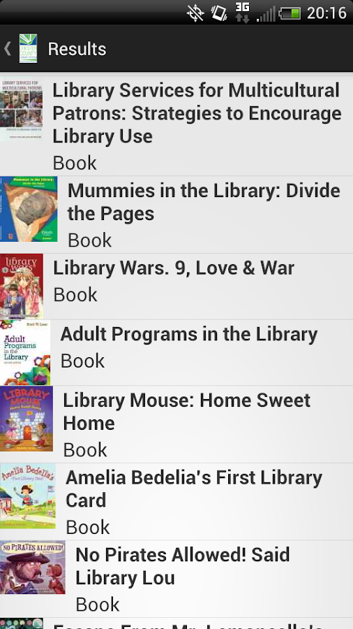 Chester County Library System- screenshot