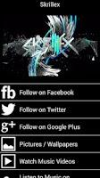 Screenshot of Skrillex Fan App and More