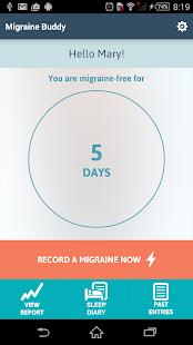 Migraine Buddy - screenshot thumbnail
