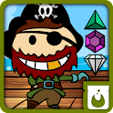 pirate treasure jewels ad free icon