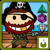 pirate treasure jewels ad free