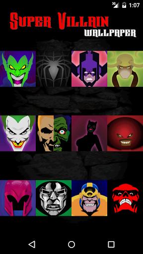 Villains Anti Superheros