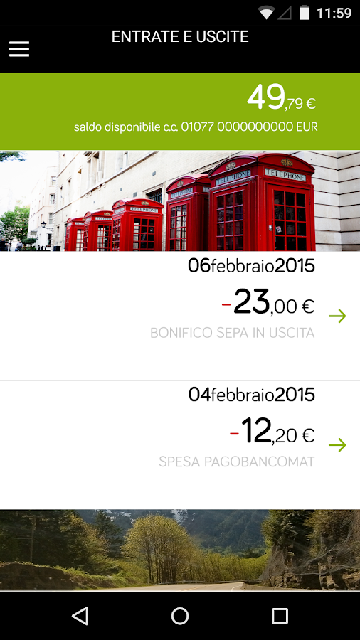 Webank - screenshot
