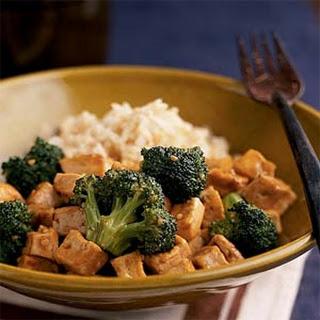 Broccoli-Tofu Stir-Fry.