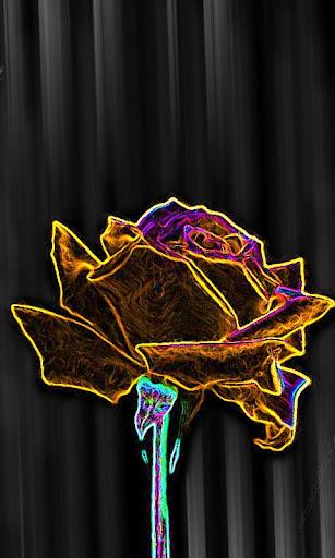 Stylish Rose Live Wallpaper