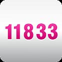 11833 Anruferkennung logo
