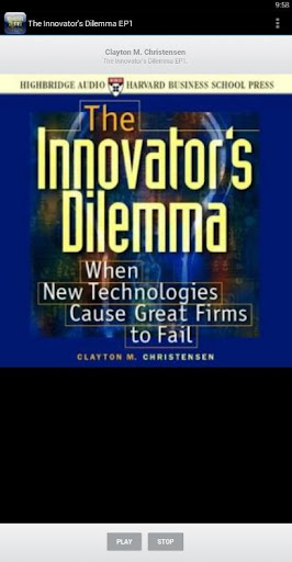 The Innovator's Dilemma EP2.