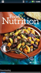 Food & Nutrition Magazine - screenshot thumbnail