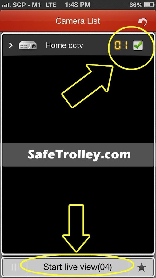 SafeTrolley CCTV- screenshot