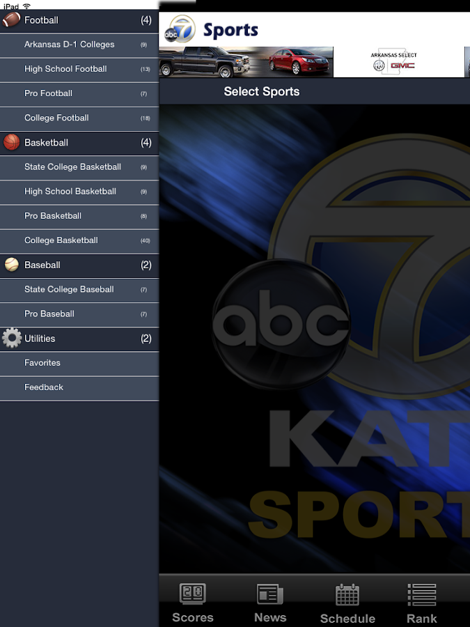 KATV Sports- screenshot