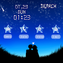 CUKI Theme Stars with Couple logo