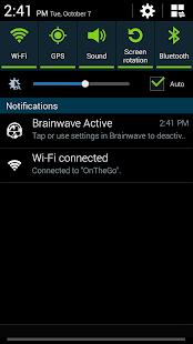 BrainWave Music Control Screenshot 5