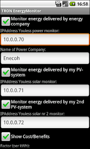 TRON EnergyMonitor screenshot 1