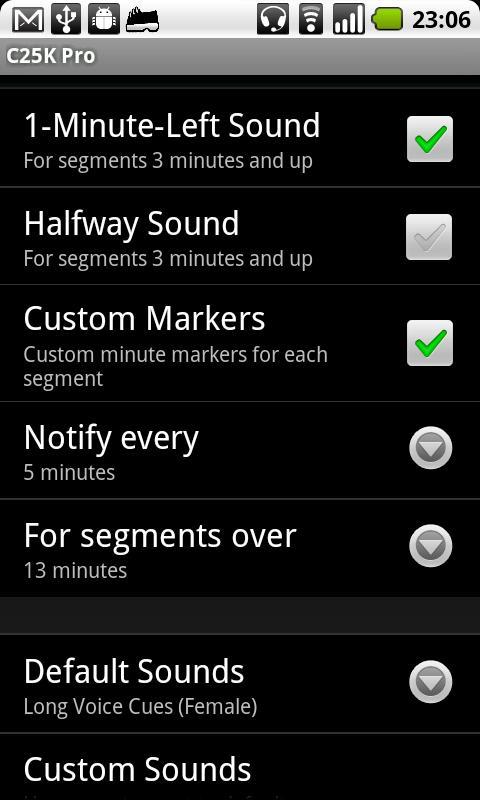 C25K Pro - screenshot