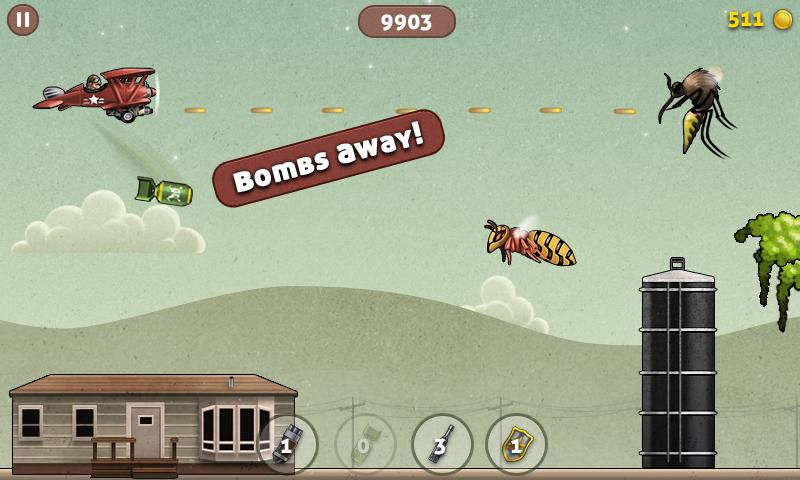 Bugduster - Flying Game - screenshot