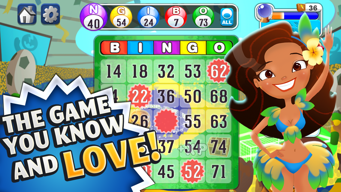 Bingo™: World Games- screenshot