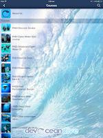 Screenshot of DevOcean Dive