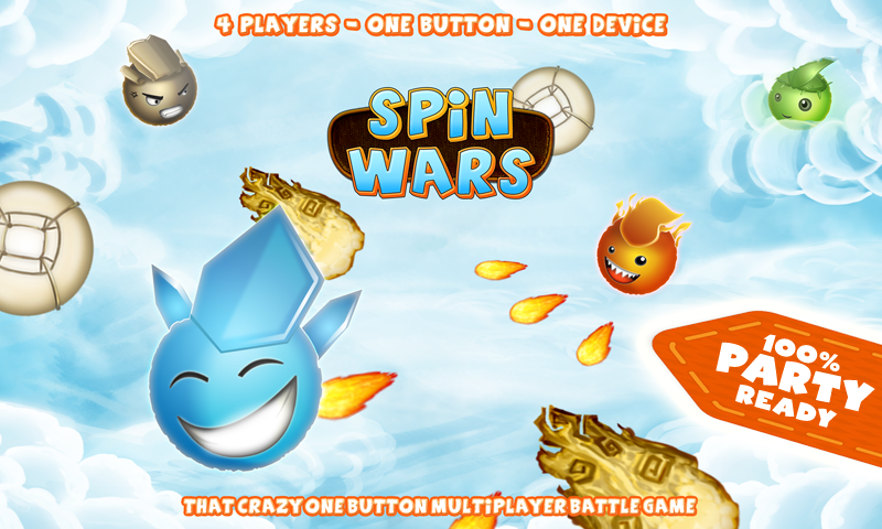 SPiN WARS- screenshot
